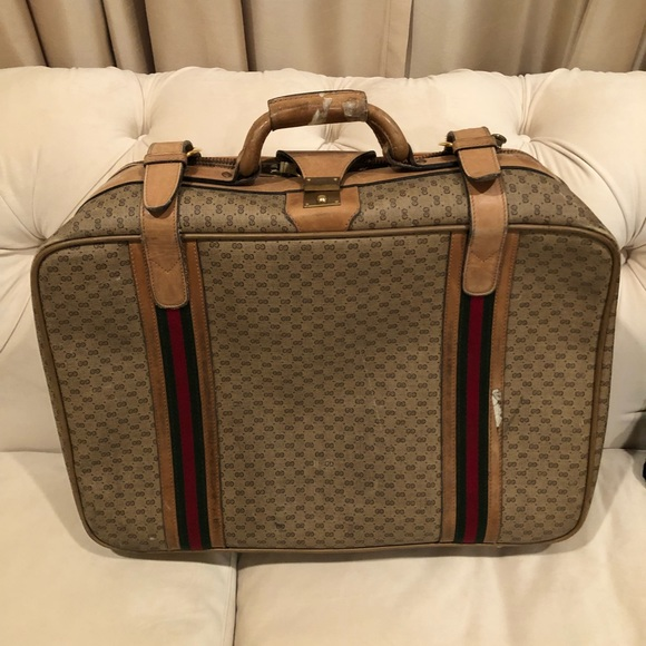 8c25ef343 Gucci Bags | Authentic Vintage Suitcase | Poshmark